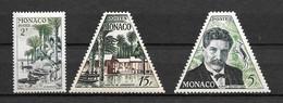 1955 - 412 à 414 **MNH - Albert Schweitzer - Unused Stamps