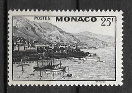 1948 - 313 *MH  - Vue De Monaco - Unused Stamps
