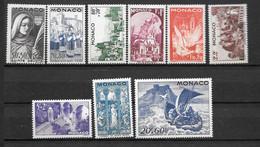 1944 - 265 à 273 *MH  - Fête De Ste Dévote - Unused Stamps