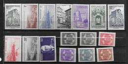 1943 - 249 à 264 *MH  - Armoiries, Monuments - Unused Stamps