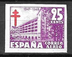 Espagne Poste Aérienne YT N° 237A Non Dentelé Neuf ** MNH. TB. A Saisir! - Unused Stamps