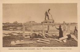 Missions Nord Canadien : Scieurs  à L'ouvrage   ///  Ref.  Juin 21  ///  N° 15.766 - Missioni