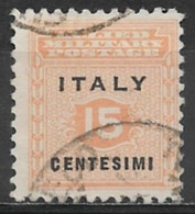 Italy (Allied Military Government) 1943. Scott #1N1 (U) Numeral Of Value - Afgestempeld