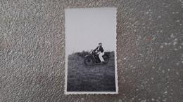 PHOTO ANCIENNE - MOTO - Automobili