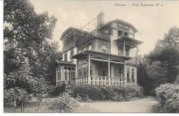 CPA   SUISSE CLARENS Villa Dubochet N°8 Erinnophilie Vignette MONTREUX Fêtes Des Narcisses 1922 - VD Vaud