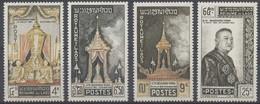 [67974]TB//**/Mnh-N° 71/74, Hommage Au Roi Sisavang Vong. - Laos