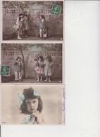 FANTAISIES  -  ENFANTS  -  LOT DE 50 CARTES  -  Qqes Ex En Scan  - - 5 - 99 Postcards