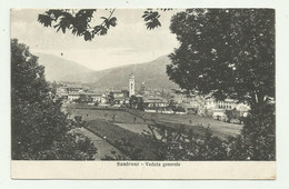 SANFRONT - VEDUTA GENERALE 1926  VIAGGIATA FP - Cuneo