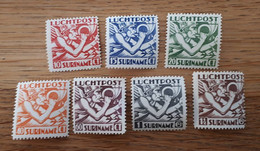 Suriname Airmail Nrs LP1-7 Minth/*/ongebruikt (069) Mercurius 1930 - Suriname ... - 1975