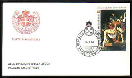 MALTE ( Ordre De ) - 1983 - SMOM - FDC - Malte (Ordre De)
