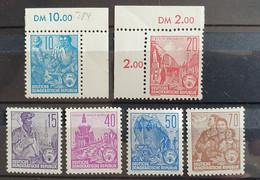 DDR 1955, Mi 453-58 MNH Postfrisch - Ongebruikt
