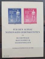 DDR 1955, Block 11 MNH Postfrisch - Unused Stamps