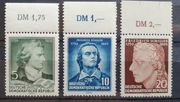 DDR 1955, Mi 464-66 MNH Postfrisch - Ongebruikt