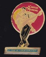 71314- Pin's-Livre Harlequin.Presse.Pin-up. - Mass Media