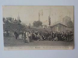 1905 CP Animée Saulnes Grèves Dans Bassin Minier De  Longwy Mine Mineur Place Des Soupes Communistes Et Bals Populaires - Longwy