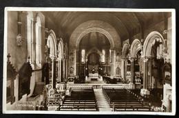 IRELAND, Circulated Postcard, « Interior R. C. CHURCH, BRAY », 1955 - Otros