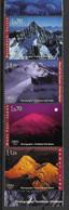2002 UNO Genf  Mi. 440-3**MNH  Internationales Jahr Der Berge. - Ungebraucht