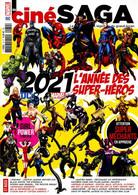 CINÉ SAGA 32 MARVEL DC 2021 L'ANNEE DES SUPER HEROS - Cinéma/Télévision