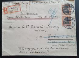 "Deutsches Reich 1911, Reko Ortsbrief Paar 30Pf ""Germania"" BERLIN - Covers & Documents"