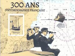 2020 France Hydrography Ships Navigation Souvenir Sheet MNH @ BELOW FACE VALUE - Unused Stamps