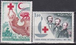 LOTE 2198B  ///  MONACO  YVERT Nº: 607/608 **MNH  ¡¡¡ OFERTA - LIQUIDATION - JE LIQUIDE !!! - Unused Stamps