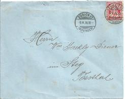 Brief  Zürich Wipkingen - Steg Im Tösstal            1906 - Covers & Documents