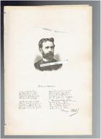 FRANCOIS FABIE 1846 MOULIN DE ROUPEYRAC A DURENQUE 1928 LA VALETTE DU VAR PORTRAIT AUTOGRAPHE BIOGRAPHIE ALBUM MARIANI - Historical Documents