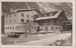 Carte Photo Cpsm Sant Anton Am Arlberg   (Austria) Hotel Alpenrose    Ph Verlag Theodor   1208 - Orte
