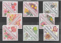 Cameroun Taxe N°35 à/to 50 Fleur 1963 ** - Camerun (1960-...)