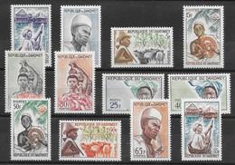 Dahomey N°179 à/to 190 1963 ** - Benin – Dahomey (1960-...)