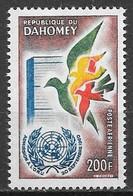 Dahomey PA N°20 ONU 200F 1961 ** - Benin – Dahomey (1960-...)
