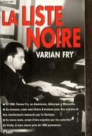 La Liste Noire - Fry Varian - 1999 - War 1939-45