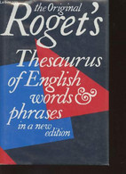 Roget's Thesaurus Of English Words And Phrases - Kirkpatrick Betty MA - 1988 - Dictionaries, Thesauri