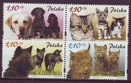 POLAND 3960-3963,unused,fauna - Ongebruikt