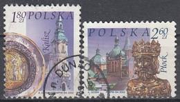 POLAND 3980-3981,used - Gebruikt