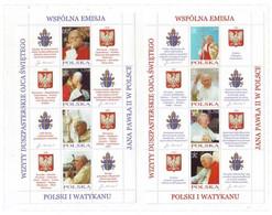 POLAND 4109-4116,unused,popes - Ongebruikt