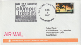 USA Cover 2007 Newport USA Olympic Trial Sailing (G132-40) - Other
