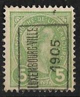 Luxembourg  1905  Prifix Nr. 25A - Precancels