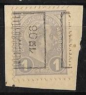 Luxembourg  1906  Prifix Nr. 27A Misvormde 9 - Precancels