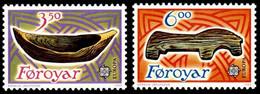FAROE ISLANDS 1989 Europa  Childrens' Toys  MNH - Islas Faeroes