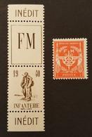 FM 10A** , FM 12 **  YT 16,50 € - Militärpostmarken