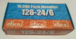 ELICA 126 24/6 SUPER PUNTI METALLICI 1000 Pz. X 10 SCATOLE 10,000 Pz. NUOVI - Other