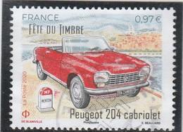 FRANCE 2020 PEUGEOT 204 CABRIOLET OBLITERE A DATE  YT 5390 - Used Stamps