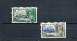 Ste Lucie 1935 Yt 89-90 - St.Lucia (...-1978)