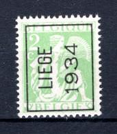 PRE277A MNH** 1934 - LIEGE 1934 - Tipo 1932-36 (Ceres E Mercurio)