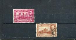 Ste Lucie 1938-46 Yt 117-118 - St.Lucia (...-1978)