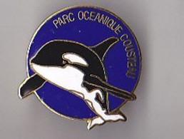 PIN'S  EN EGF  THEME PLONGEE  PARC OCEANIQUE COUSTEAU  EPAULARD - Animaux