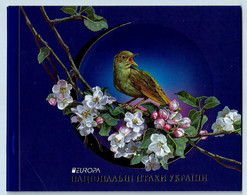 Ukraine 2019: Europa - National Birds, Booklet ** MNH - 2019