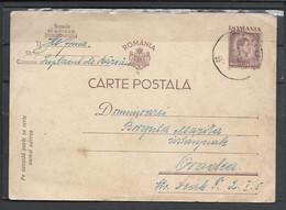 Romania, St.Card, King Michael, 1947. - Enteros Postales