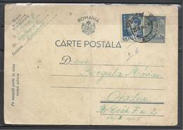 Romania, St.Card, King Michael, Bue,+Stamp, 19476 - Enteros Postales